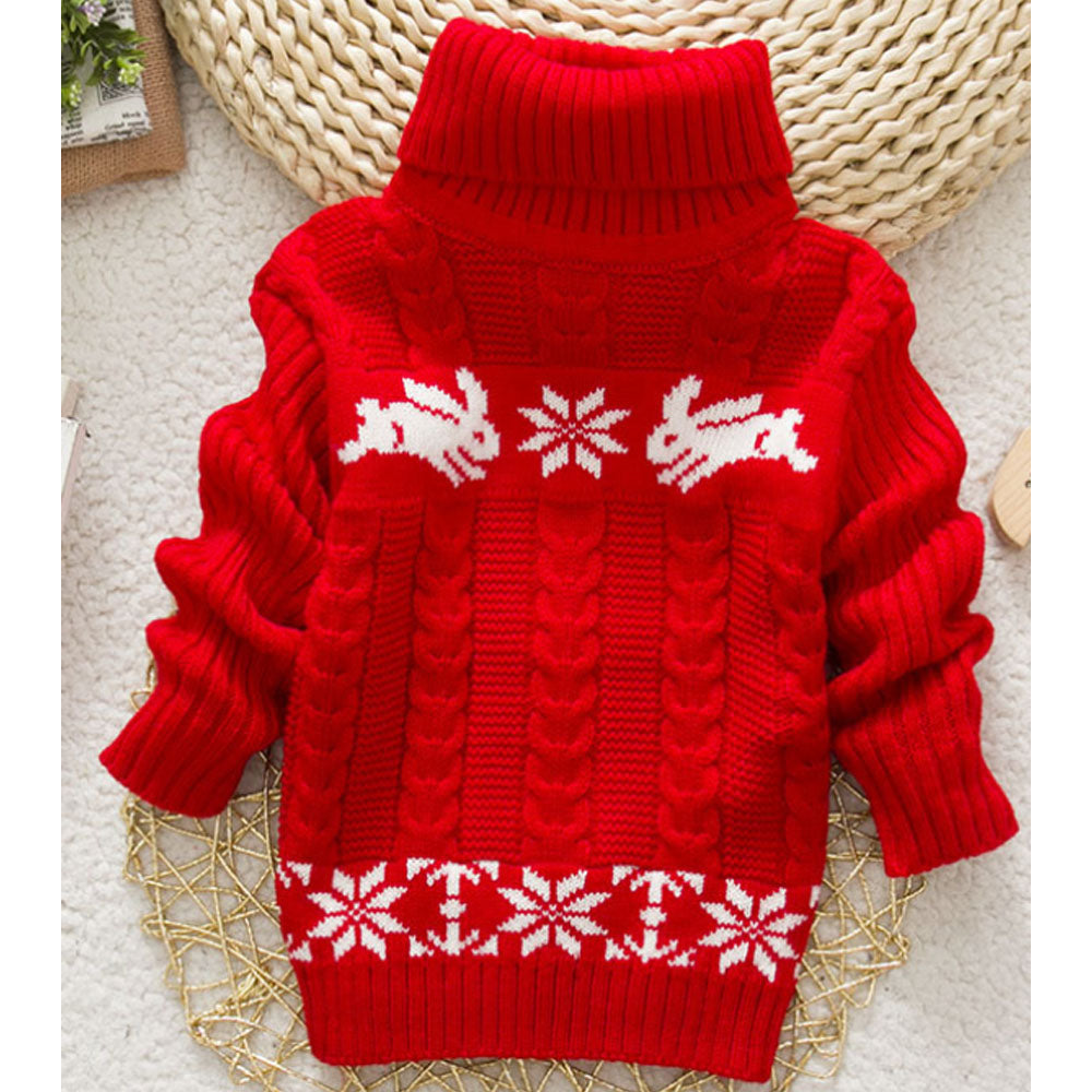 Baby & Girl Cartoon Sweater Clothes Pullover