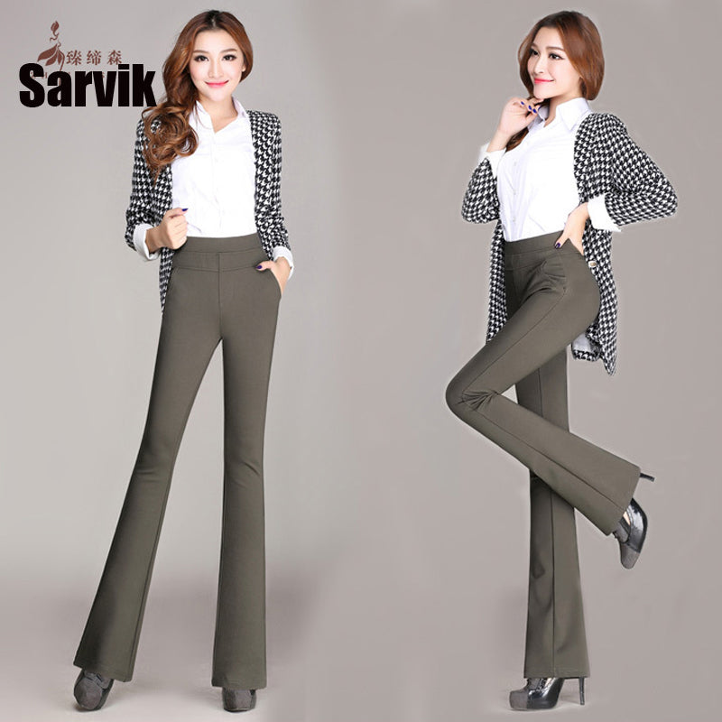 Wide Leg Ladies Formal Trousers
