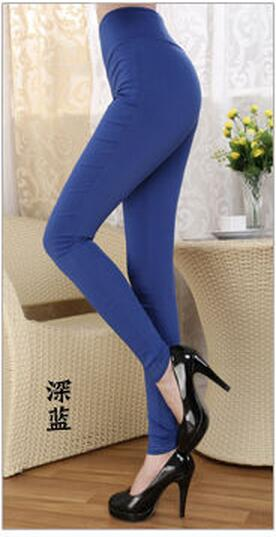 Women High Stretch Leggings High Waist Female Skinny Pencil Pants