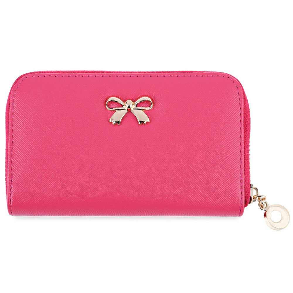 Small Korean Bowknot Women Clutch Wallet