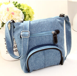 Denim Cross Body Classic Canvas Bag