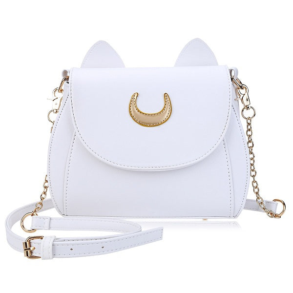 Women Backpack PU Leather Sailor Moon Multi Function
