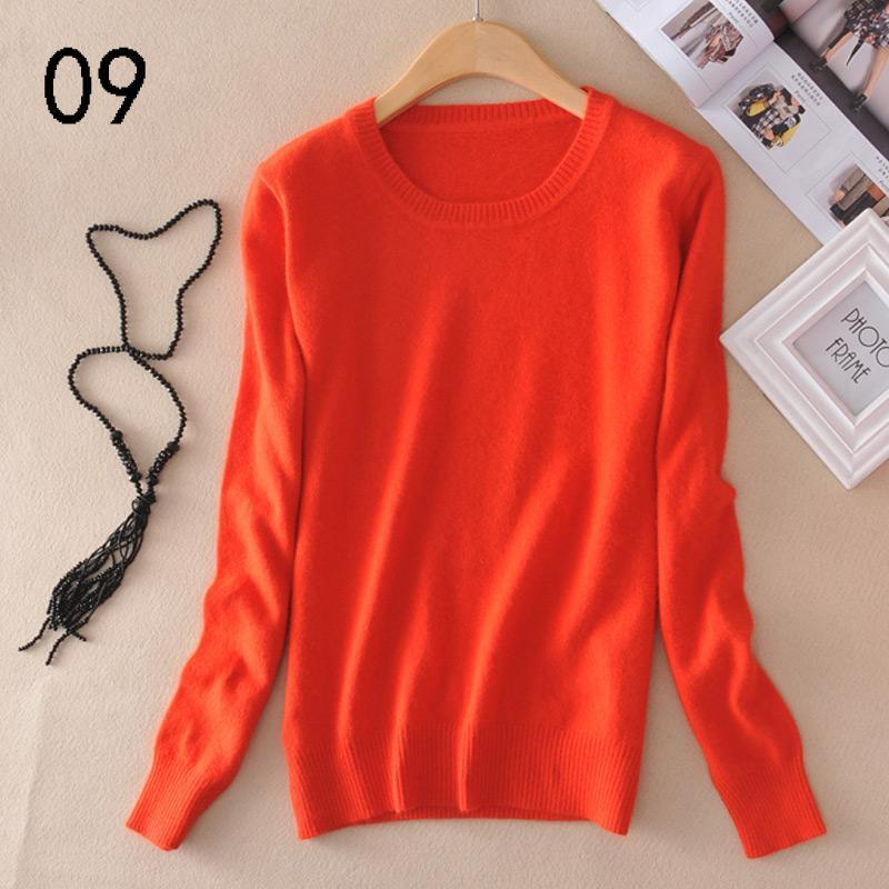 Long Sleeve Wool Knitted Brand Cashmere Sweaters
