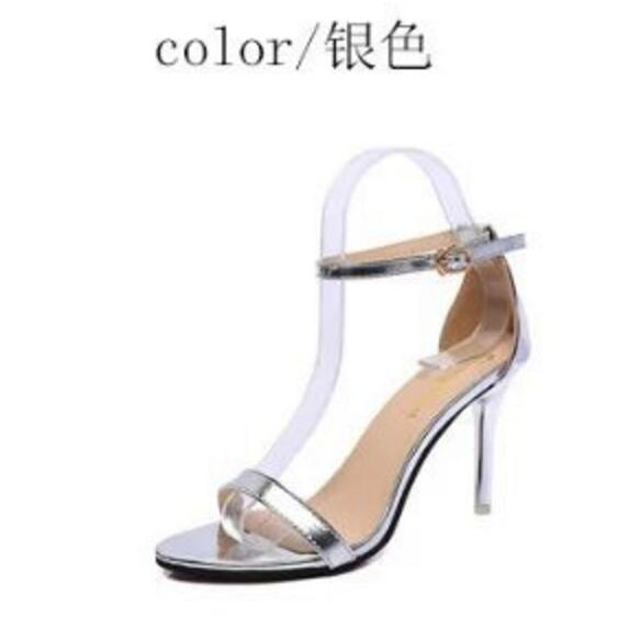 Vogue Woman Shoes Supermodel T-Stage Classic High Heel Sandals