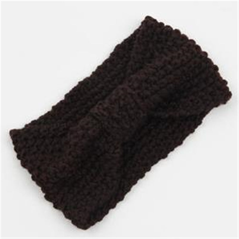 Crochet Knitted Headband