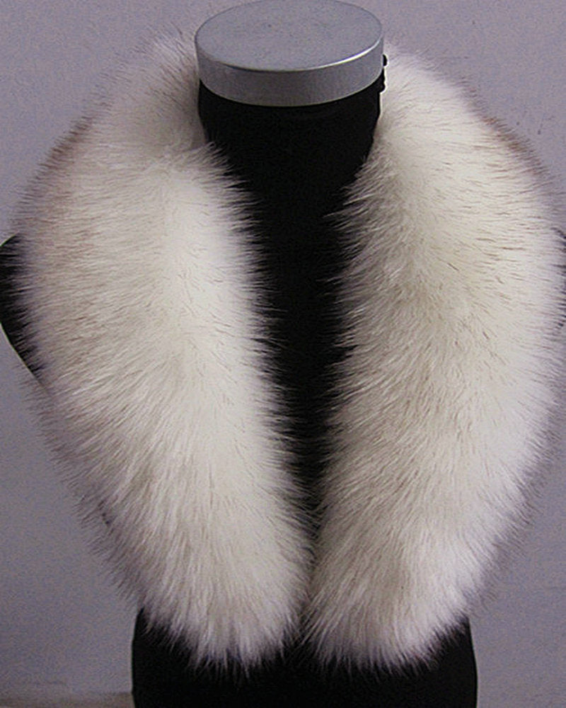 High Imitation Fox Fur Collar