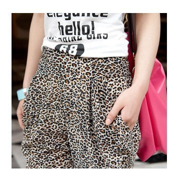 Casual Harem Trousers Ankle Length Skinny Pants