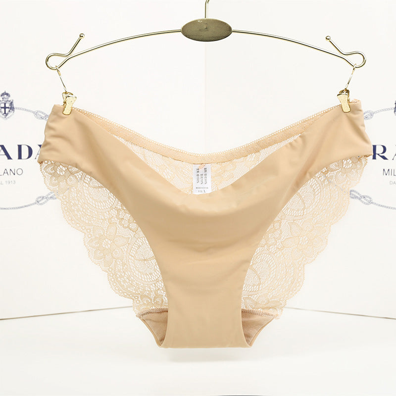 Sexy Lace Transparent Panties Hollow Out Intimates Underpants
