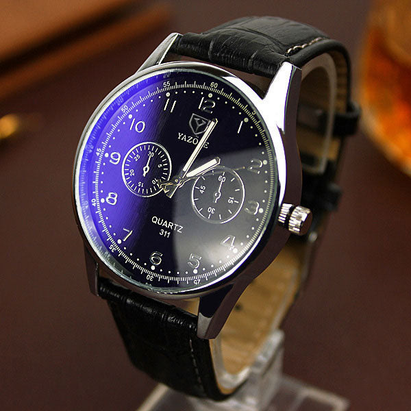 Luxury Men Quartz Watch Clock