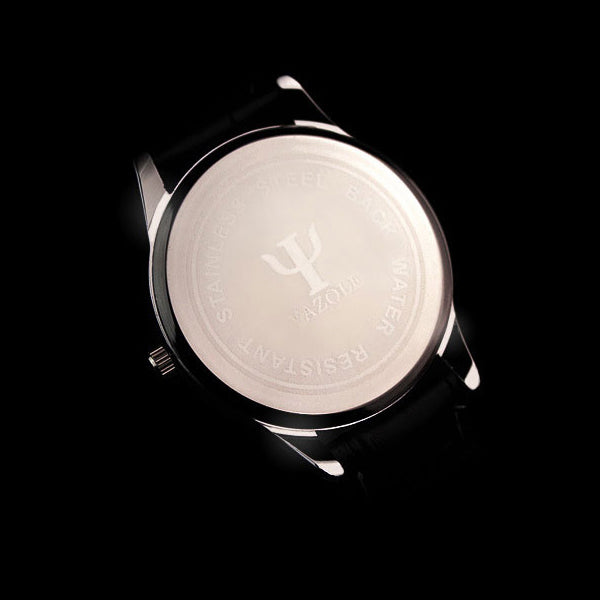 Casual Luxury Leather Quartz Men Watch
