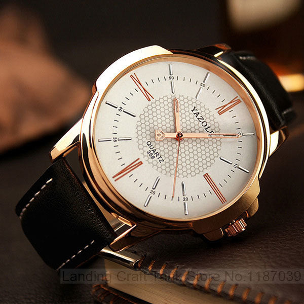 Top Luxury Male Quartz Wristwatches
