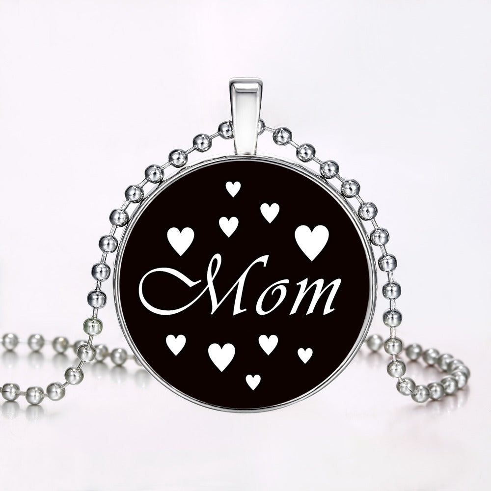 Mom Glowing Necklace Jewelry