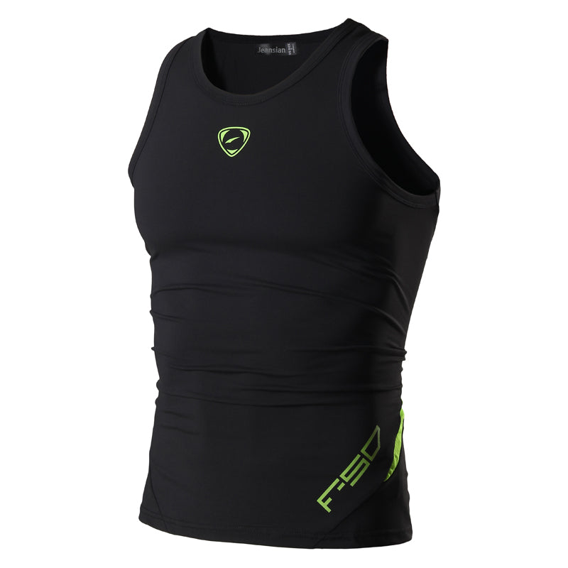 Casual Quick Dry Slim Fit Sleeveless T-shirt