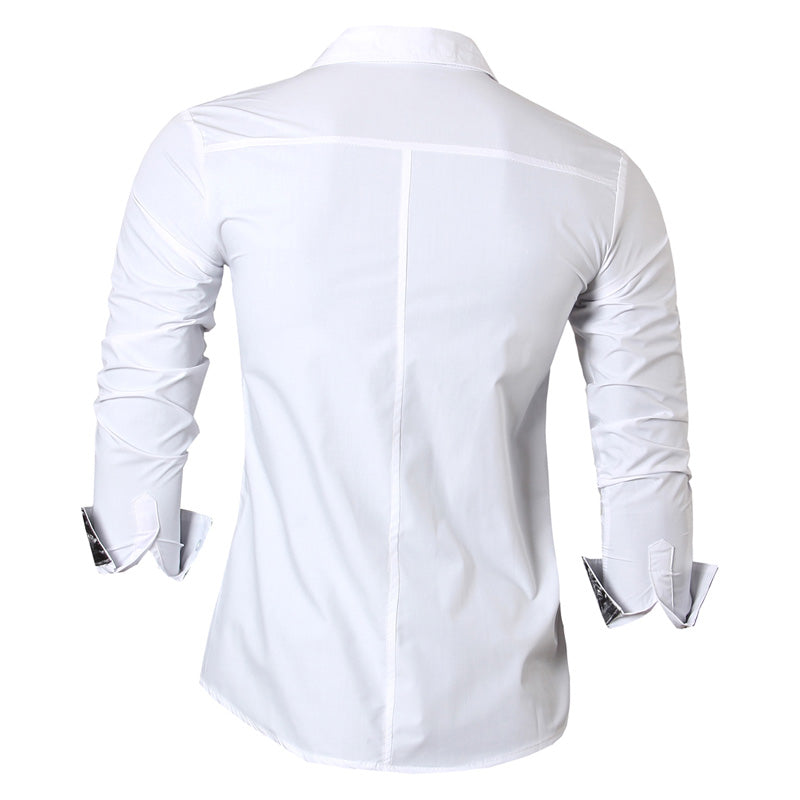 Long Sleeve Casual Slim Fit Shirt