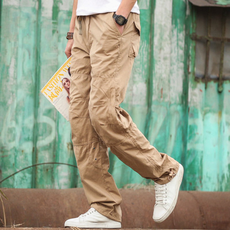 Thin Cargo Breathable Baggy Men's Pants