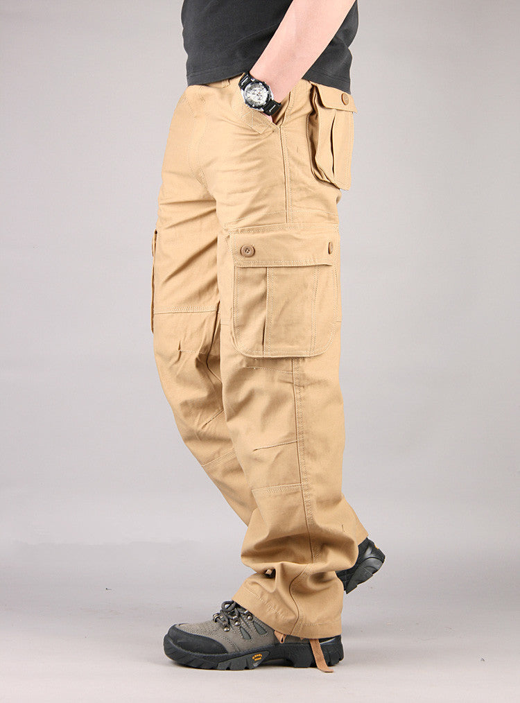 Multi Pocket Overalls Tactical Army Trousers