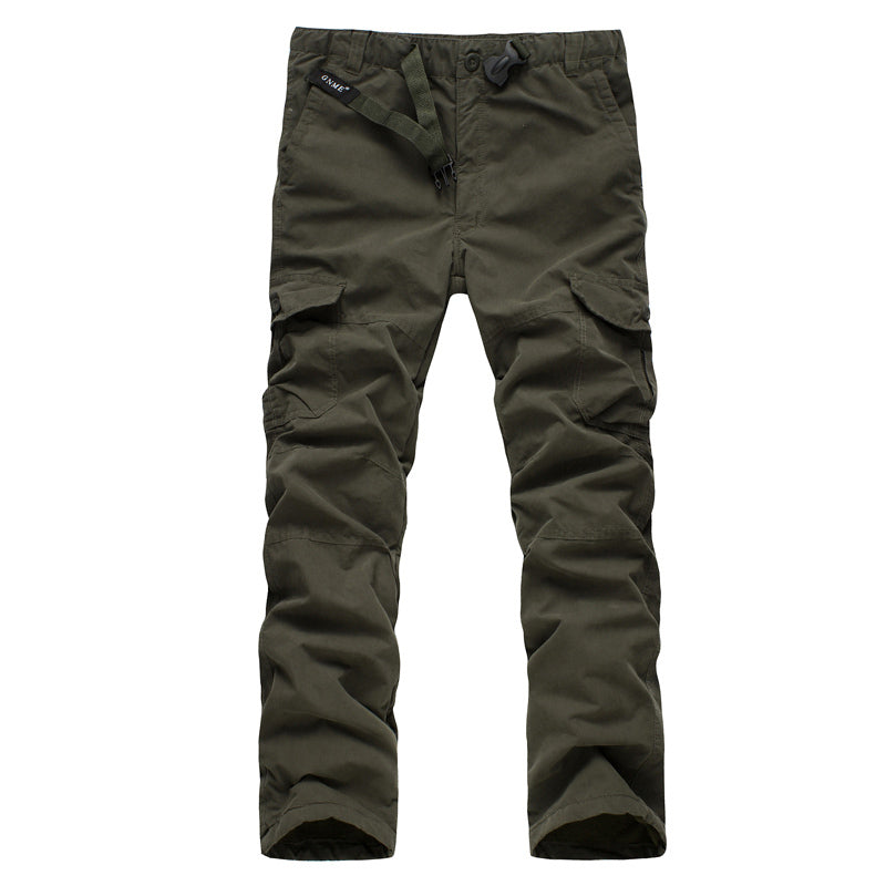Warm Baggy Military Camouflage Tactical Pants Trousers