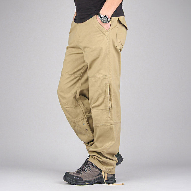 Men Military Overalls Outdoors Long Trousers