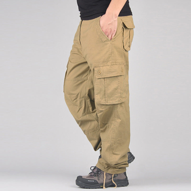 Casual Multi Pocket Military Long Trousers Pants