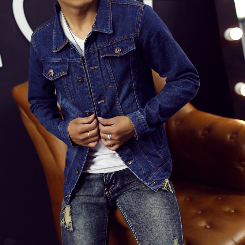 High Quality Men Jeans Jacket