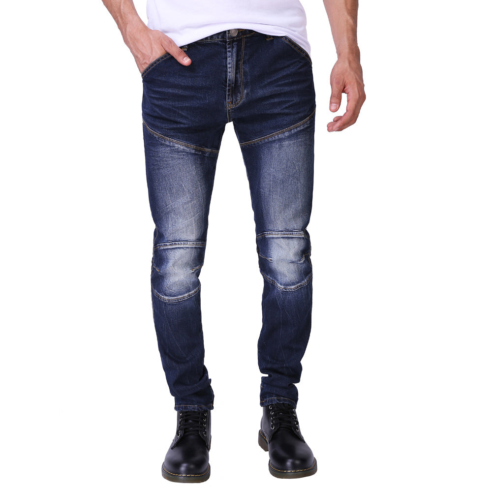 Fashion Slim Fit Strech 3D Design Denim Jeans