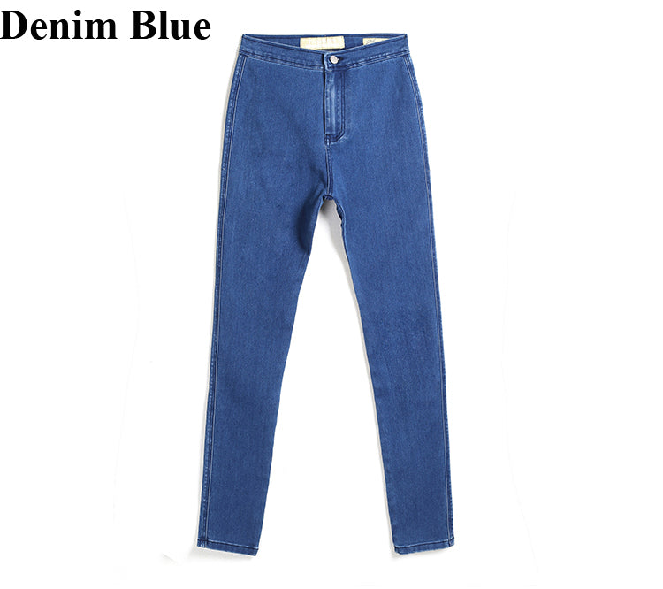 Skinny Fashion Designer Brand Denim Jeans