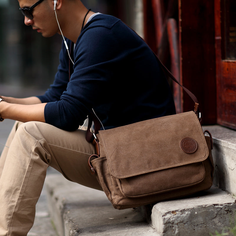 Men Messenger Shoulder Bag