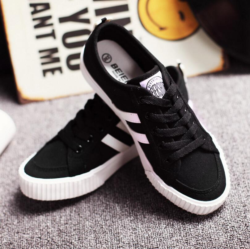 Solid Canvas Women Shoes
