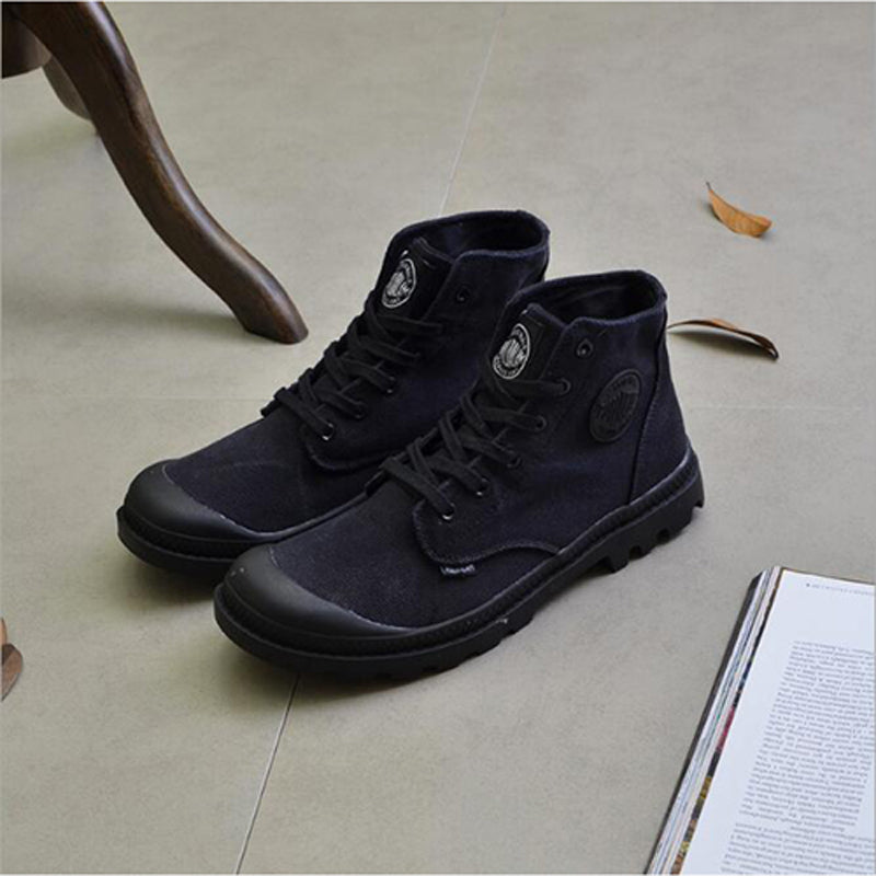 Lace-Up Comfortable Casual Canvas Shoes