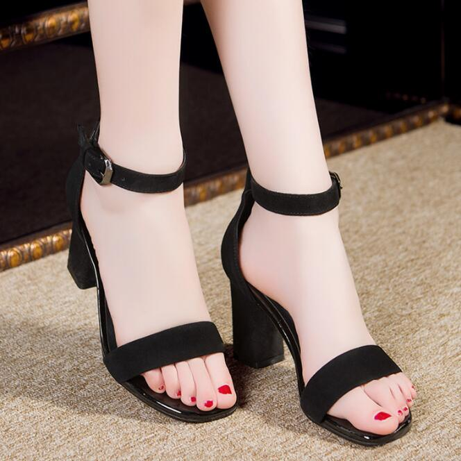 High Quality Genuine Leather Comfortable Women Sandal