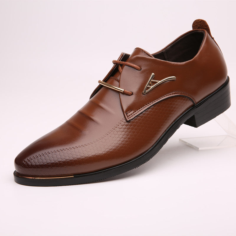 Casual Flat Leather Men Shoes