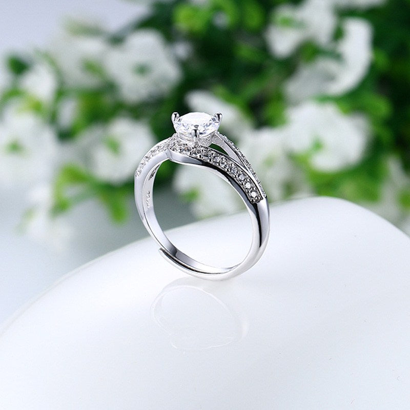925 Silver Free Engraved Ring