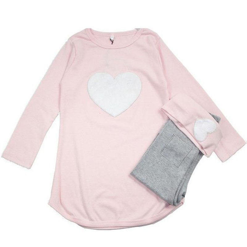 3 pcs Girls Clothing Set Hair Band & Long Sleeve Shirt & Pants