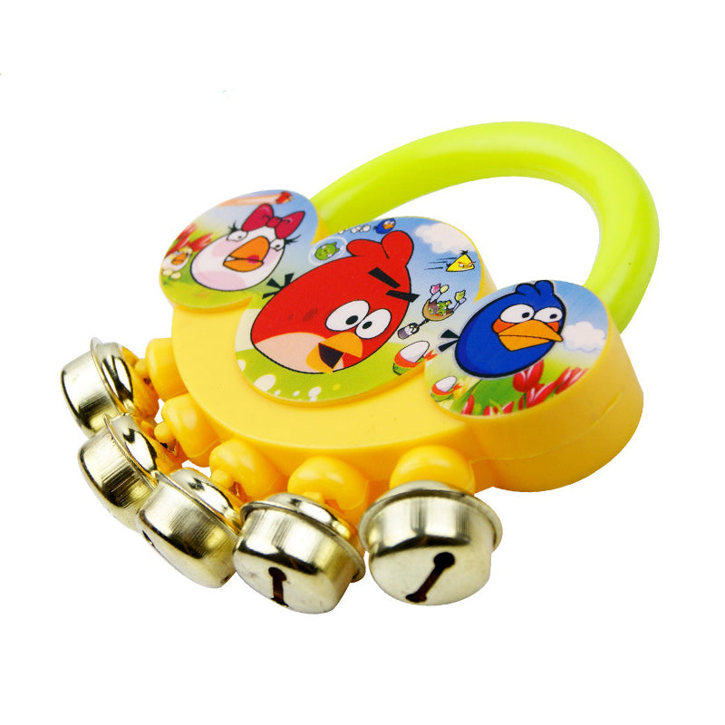 2 PCS Baby Rattle Fingers Hand Bells