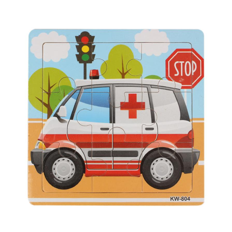 Ambulance Wooden puzzles Kids