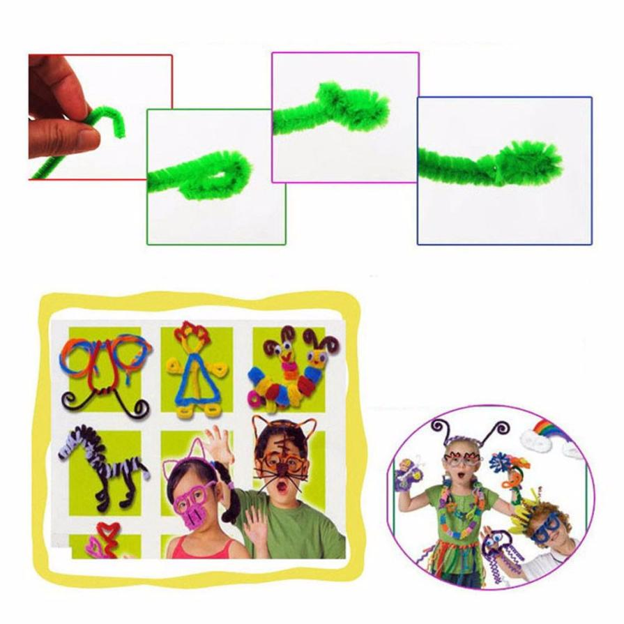 DIY Multicolor Educational Handmade Art Toy 100Pcs