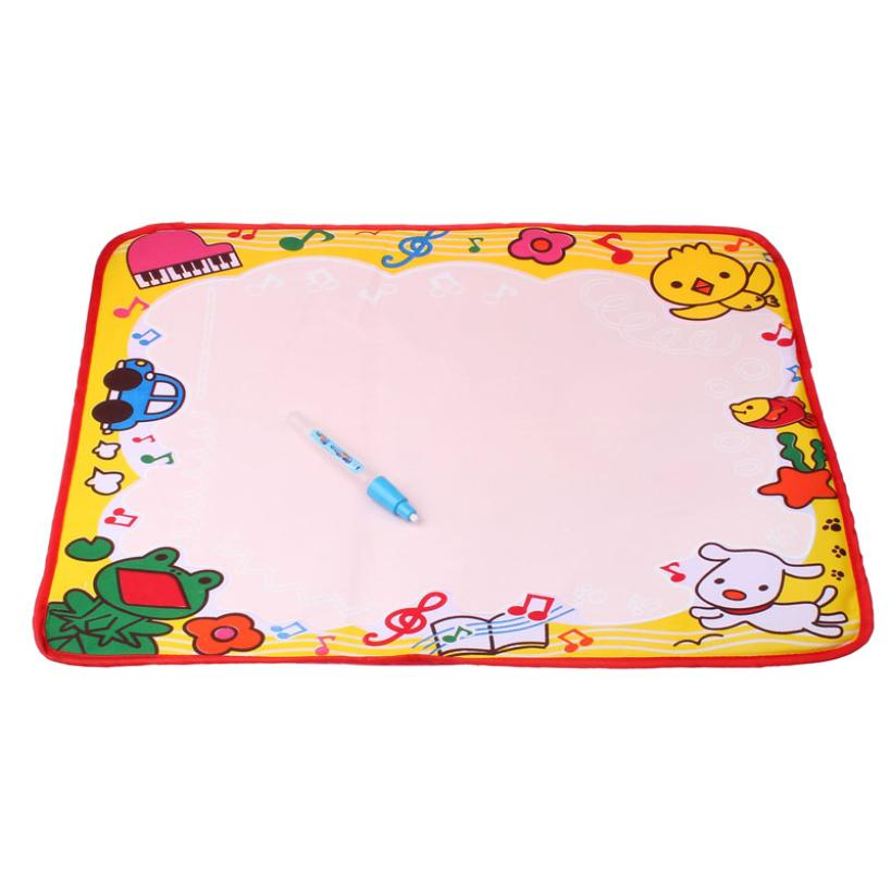 Water Drawing Painting Writing Mat Board & Magic Pen Doodle Toy