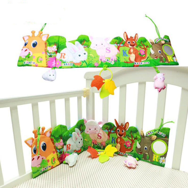 Baby Bed Around & Cloth Book With Animal Model