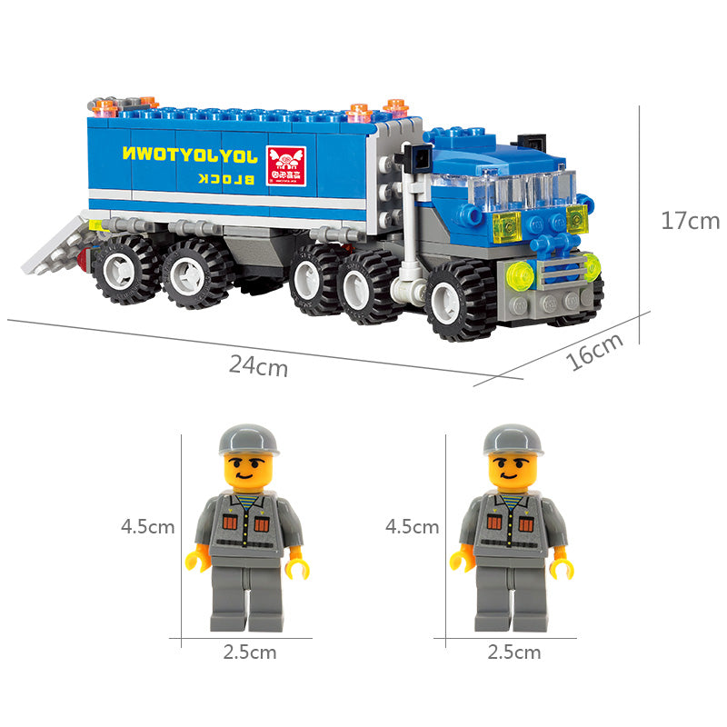Transport Dumper Truck DIY Model 163Pcs Building Blocks