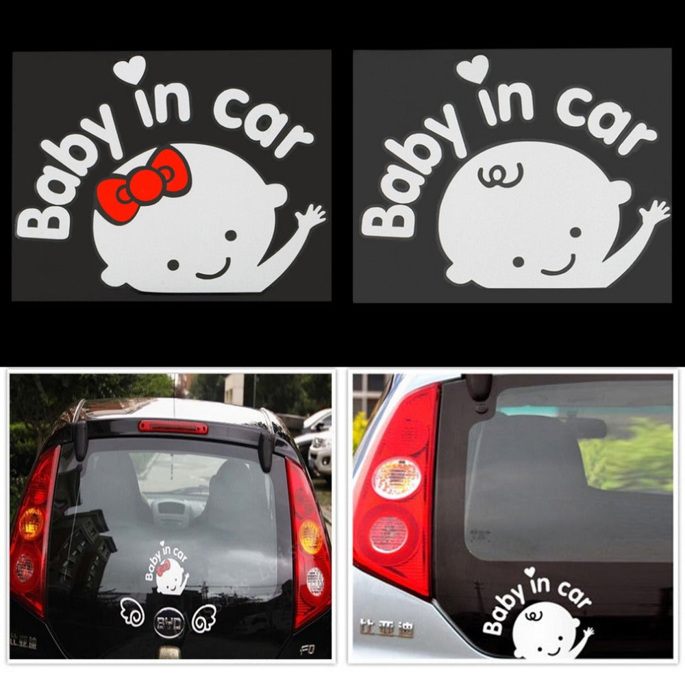 Baby In Car Warming Car Sticker ,Baby On Board