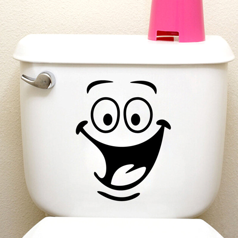 Waterproof Stickers Wall/Toilet Decorations