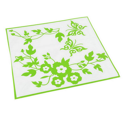 Butterfly Flower Bathroom Decor Stickers