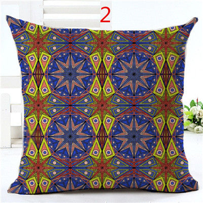 High Quality Cotton Linen Geometric Home Decor Pillow