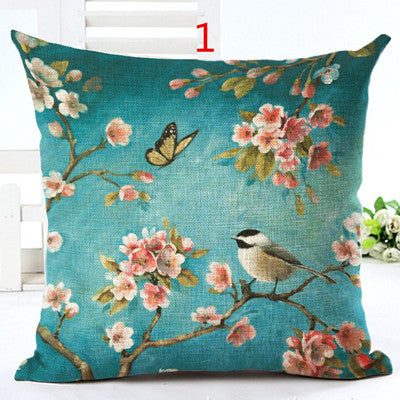 Throw Pillowcase Home Decorative Square Pillow