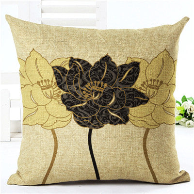 Creative Fashion Style Flower House Ware Chair Cushion Decorative Pillow