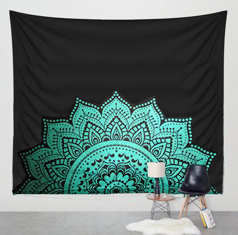 Tapestry Elephant Mandala Wall Decoration