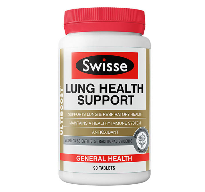 Swisse LUNG HEALTH SUPPORT 90 Tablets