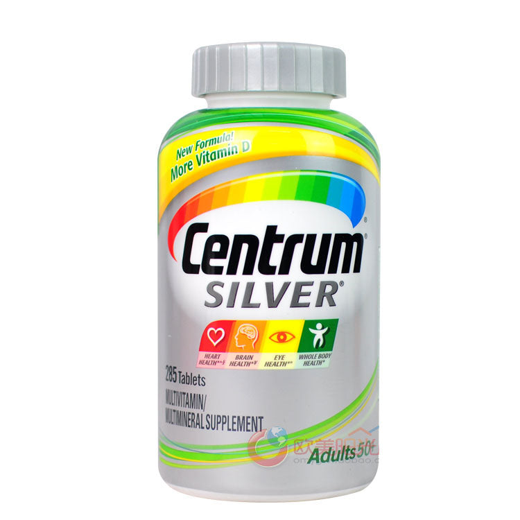Centrum Silver Multivitamin & Multimineral - 285 Tablets