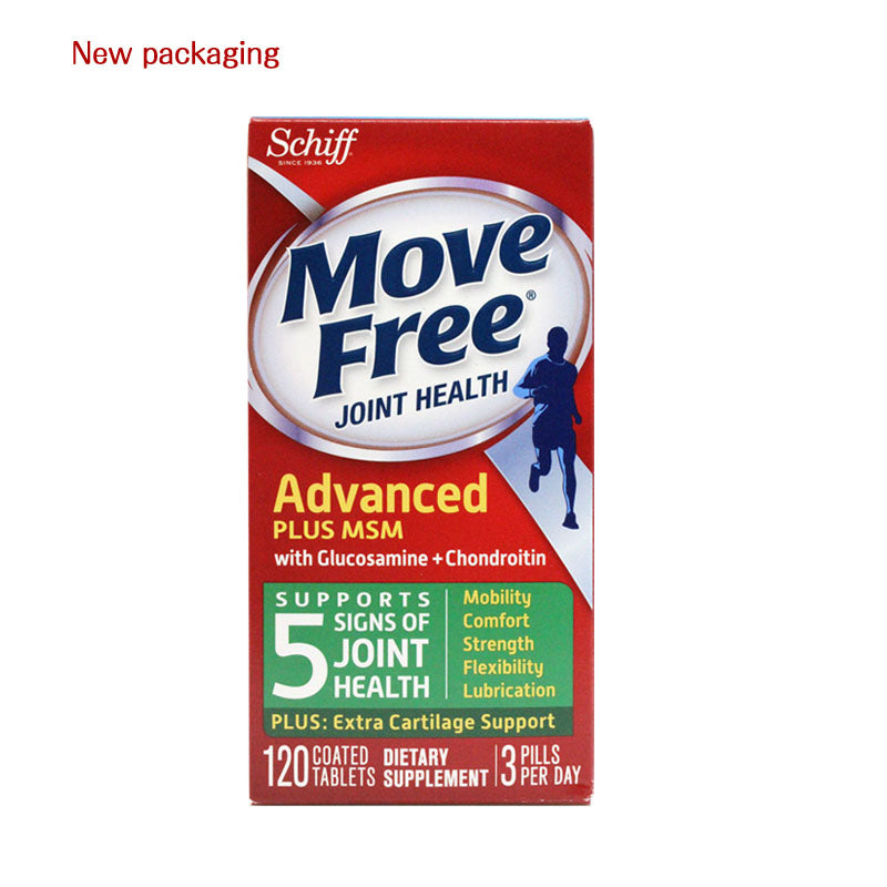 Move Free Glucosamine Chondroitin MSM & Hyaluronic Acid Joint Supplement