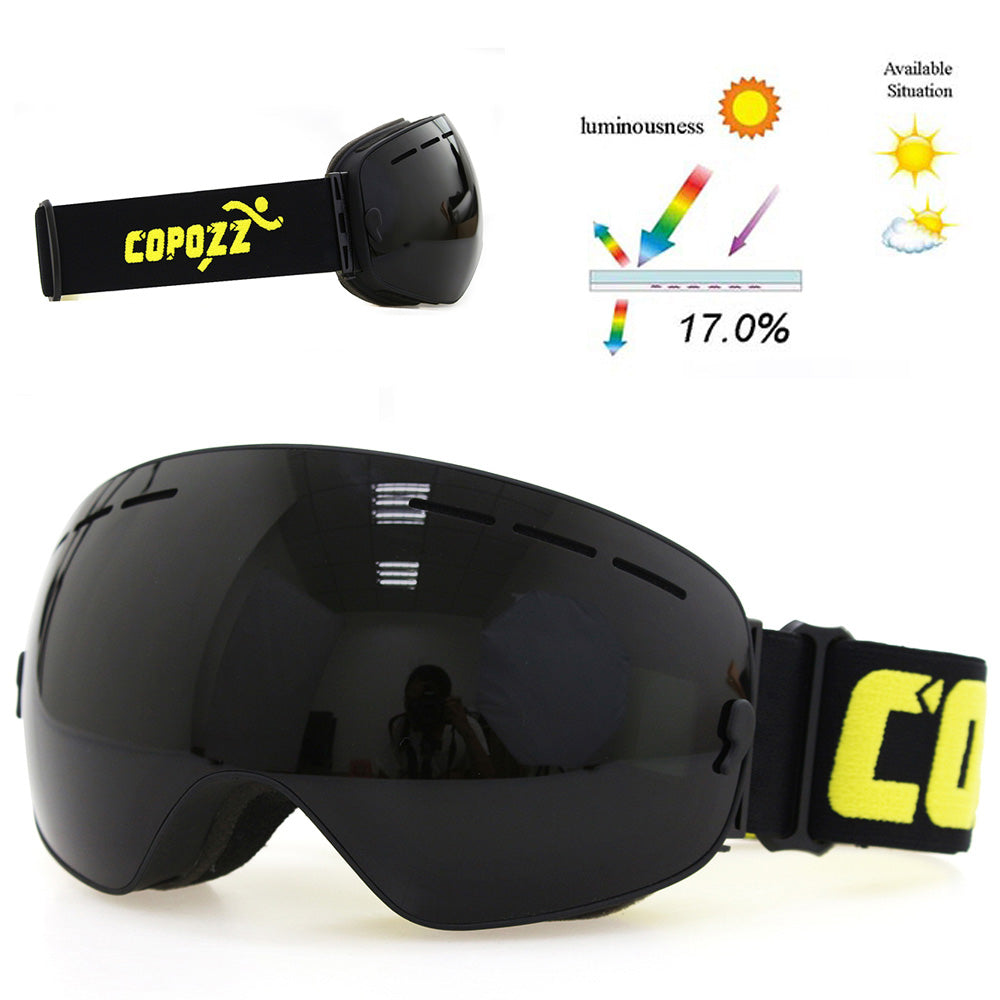 High Quality Double Layers Goggles